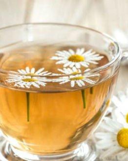 Chá para pele macia , sedosa e sempre jovem