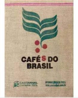 Sacos De Juta Cafés do Brasil Para Artesanato E Decoração